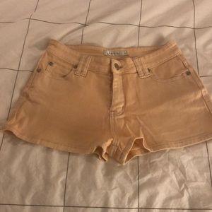 MINKPINK Shorts - Mink Pink High Rise Short Shorts